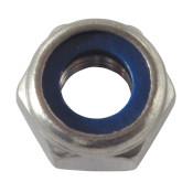 Rostfritt stål låsmuttrar Din 985