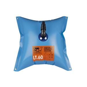 Fyrkantig flexibel vattentank 120l
