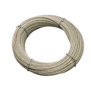 Rostfritt ståltråd 133 Ledningar 10mm-50mt