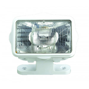 White Abs Projector Flood Light 12v